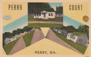 PERRY , Georgia , 1930-40s ; Perry Court