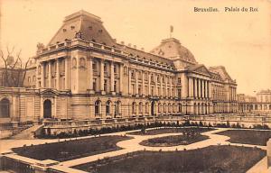 Bruxelles Belgium, Belgique, Belgie, Belgien Palais du Roi Bruxelles Palais d...