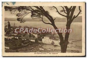 Postcard Old St Tropez Var Vue Generale