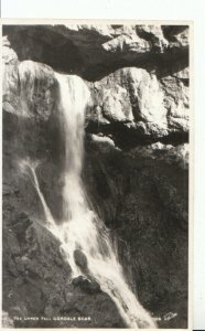 Yorkshire  Postcard - The Upper Fall - Gordale Scar - Real Photo - Ref 13369A