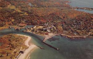 Cape Arundal Maine Kennebuck River Aerial View Vintage Postcard JA4741440