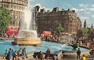 London Trafalgar Square Whitehall and Big Ben 1972