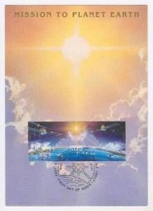Maxium card no.7, United Nations  Mission to Planet Earth, 1992