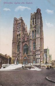 BRUXELLES, 1900-1910's; Eglise Ste. Gudule