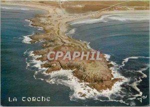 Postcard Moderne Saint Guenole Penmarch La Pointe de la Torche or come crashi...