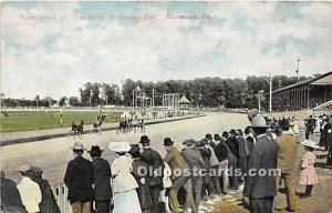 Trotters, Race Track at the Great Allentown Fair Allentown, Pennsylvania, PA,...