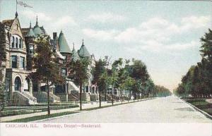 Illinois Chicago Driveway drexel Boulevard
