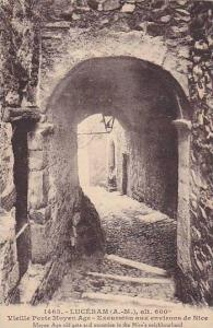 Moyen Age Old Gate & Excursion In The Nice's Neighbourhood, Luceram (Alpes Ma...