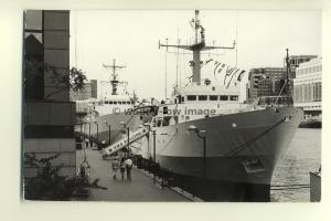 na0503 - Royal Navy Warship - HMS Bulldog & HMS Roebuck - photograph