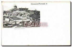 Old Postcard Clermont Ferrand Puy de Dome Summit