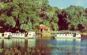 Scenic submarine boat trips RAINBOW SPRINGS, FL 1959