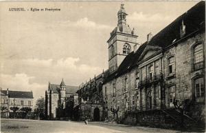 CPA LUXEUIL - Église et Presbytere (380184)