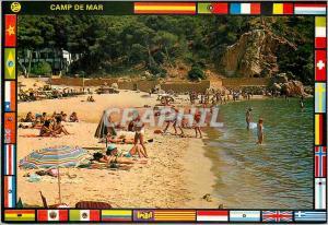Postcard Modern Mallorca Camp de Mar