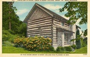 VA - Abingdon, Emory. Tobias Smyth House, Emory & Henry College