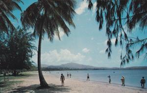 LUQUILLO, Puerto Rico, 1940s-60s; Luquillo Beach