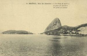 brazil, RIO DE JANEIRO, El Pilón de Azúcar (1921) Stamp