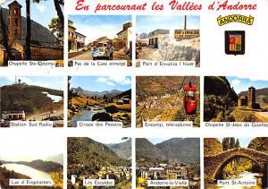 Spain Old Vintage Antique Post Card Vallees d'Andorre Chapelle Ste Colom...