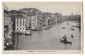 Venezia Canal Italy Postcard 01.12