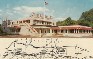 WESTPORT , Connecticut, 1950-60s; The Clam box