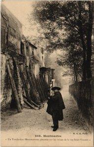 CPA PARIS 18e - Un Troubadour (59478)