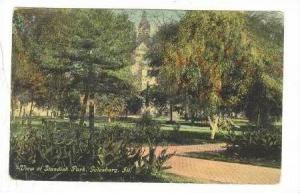 View of Standish Park, Galesburg, Illinois, PU-1911