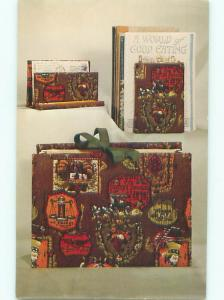 Pre-1980 This Is A Postcard KEEPSAKE CASE BY NATIONAL HANDCRAFT AC7413