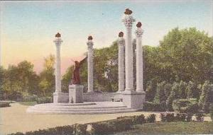 Indiana Muncie A Civic Testimonial to the Beneficence of The Ball Brothers Ba...
