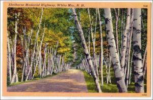 Shelburne Memorial Highway, White Mts NH