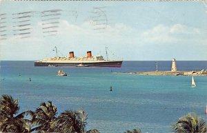 Queen Elizabeth Cunard Line Ship 1966