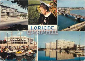 Modern Postcard Lorient Center City flood basin