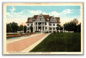 Vintage 1930's Postcard Washington Sanitarium Takoma Park Washington DC