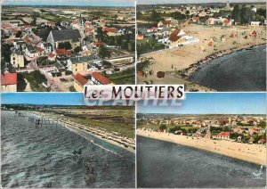 Modern Postcard Les Moutiers (Loire Atalantique) General view The Pre Vincent