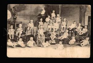 040472 MULTIPLE BABIES on Chairs Vintage Photo COLLAGE PC