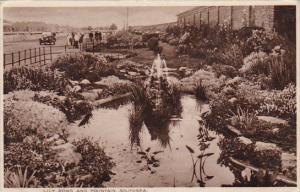 SOUTHSEA , Hampshire , England , 1920-30s ; Lily Pond & Fountain