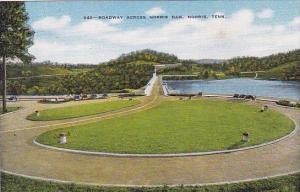 Tennessee Norris Roadway Across Norris Dam