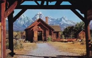 Chapel Of The Transfiguration Moose Wyoming