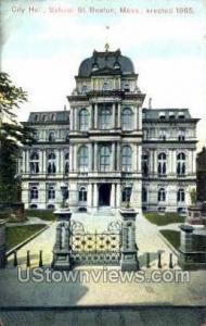 City Hall, School St Boston MA Unused