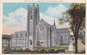 Massachusetts Worcester Wesley Methodist Episcopal Church