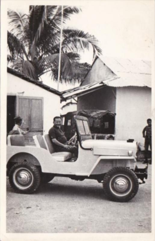 Vietnam Local Native Driving Jeep