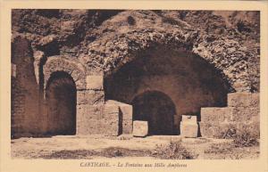 Tunisia Carthage La Fontaine aux Mille Amphores
