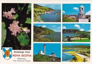 Canada Nova ScotiaGreetings From Nova Scotia The Mayflower Nova Scotias Provi...
