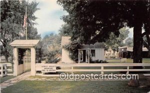 Herbert Hoover Birthplace West Branch, Iowa, USA 1965