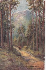 BANFF, Alberta, Canada, PU-1907; Cascade Mountain