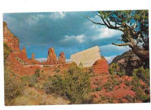 Chapel of the Holy Cross Sedona Arizona Side View Red Rock Spires