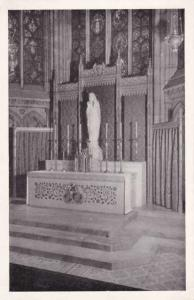Our Lady of New York Altar in Lady Chapel St. Patrick's Cathedral New York City
