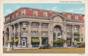 Maine Rumford Harris Hotel Curteich