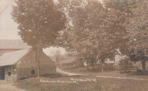 RP: BROWNSVILLE , Vermont, 1900-1910's ; Blacksmith Shop & House