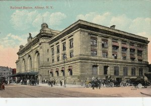 ALBANY , New York, 1900-10s ; Railroad Station