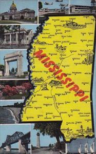 State Map Of Mississippi