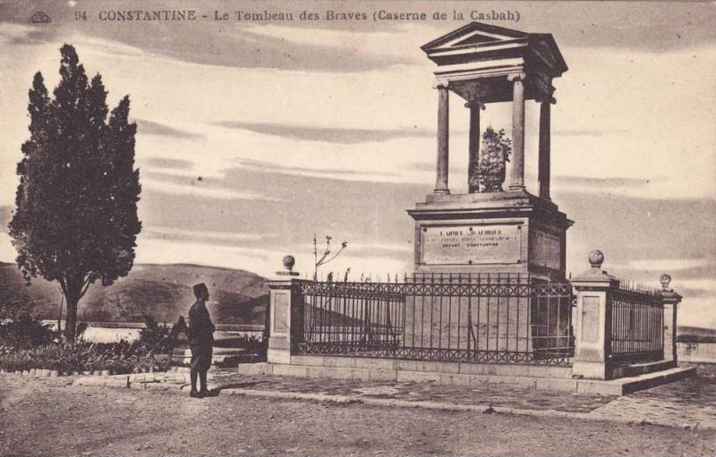 Le Tombeau Des Braves (Caserne De La Casbah), Constantine, Algeria, Africa, 1...
